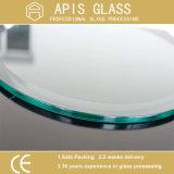 ANSI Z297 de Gekleurde Cirkel/het rond Afgekante Afgeschuinde Karton van de Rand verpakte individueel Aangemaakt Glas