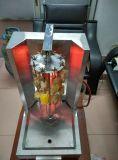 Hgv-790A de commerciële Machine van Shawarma Doner Kebab van het Gas van het Roestvrij staal Mini