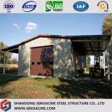 Stahlaufbau-Lager für die Landwirtschaft mit Kabinendach