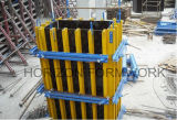 Film Faced Plywoodの再使用可能なConcrete Wall Formwork