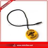 Желтое Round Plastic Seal Tags для ювелирных изделий Fashion
