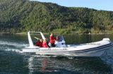 Aqualand 20FT 6.2m steifes aufblasbares Fischerboot-/Fiberglas-Rippen-Bewegungsboot (rib620d)