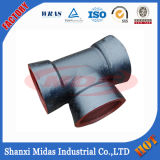 Water Pipeline fonte ductile Raccords de tuyaux Tous Socket End Equal Tee pour tuyaux de fonte ductile Connexion Utilisation