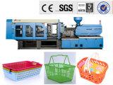 Máquina plástica da modelação por injeção da cesta