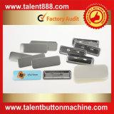 Botón del talento Pin del cuadrado Pin del material