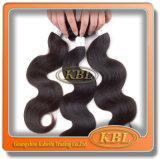 Instruções de cuidado malaias do cabelo, cabelo malaio da onda do corpo 3 pacotes