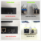 1000 & 100m Smart Switch Gigbit Red de Fibra Gestionado 2 Gx + 4 Fe Industrial