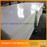 白いカラー広告のためのプラスチックアクリルシートまたはオパールのプレキシガラスのアクリルのボード