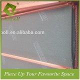 Azulejos de madera de aluminio decorativos combinados del techo del bafle del color con Perforatuion