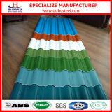 Mattonelle di tetto d'acciaio galvanizzate colore standard di Ral