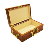 Caixa de presente de madeira do perfume do estilo árabe