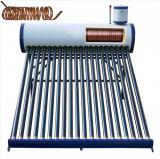 Calentador de agua solar precalentamiento cambiador de cobre del calentador de bobina