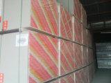 Placas de yeso laminado Frente de Papel panel de yeso resistentes al agua
