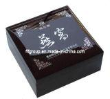 O GV examinou o fornecedor que o clássico personaliza a caixa de madeira do revestimento Shining