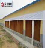 ステンレス鋼フレームの蒸気化冷却のパッド