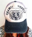 O tampão da impressão ostenta o tampão da forma da cidade do chapéu do camionista do boné de beisebol do tampão do lazer do tampão