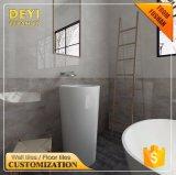 China importa a telha cerâmica cor-de-rosa de mármore barata da parede do banheiro
