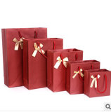 По-разному Size Cardboard Paper Packaging Bag с Handle