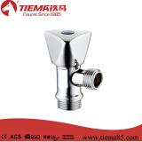 Válvula de ângulo econômica da válvula do banheiro da válvula da Thee-Maneira do zinco (ZS1008)