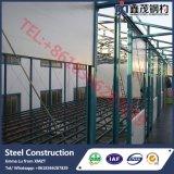 Edificio material/almacén/taller/hangar de la estructura de acero de Matal del palmo grande