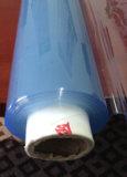 Folha flexível desobstruída super plástica do PVC