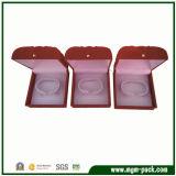 Классическая красная Выдолбленная-вне пластичная коробка ювелирных изделий