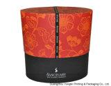 Caja de regalo rígida oval cosmética del papel de la cartulina de Fashional (YL0401)