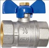 Butterfly Handle/Ball Valve (a. 0110)の真鍮のFull Port Valve