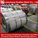 O zinco de alumínio revestiu a folha galvanizada do ferro usada na telhadura
