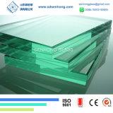 6.38mm 1/4 33.1 clair et verre feuilleté vert pour la construction