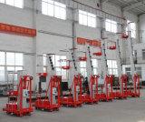 中国の新しいブランドの単一のマストのアルミニウム上昇のプラットホーム