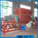 폐기물 플라스틱 또는 고무 또는 나무 또는 소파 또는 가구 또는 금속 축이 둘 있는 쇄석기