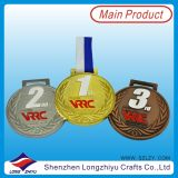柔らかいエナメルの金属は遊ばすメダルスポーツの体操の星メダル(lzy-201300231)を