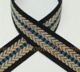 De gesponnen Singelband Belt#1501-19 van de Jacquard van de Polyester