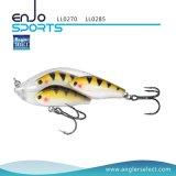 Attrait de pêche de poissons d'école de palan de pêche avec les crochets triples de Bkk (LL0285)