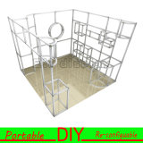 3X3 fino a 3X6 Meters Portable Modular Exhibition Booth Display
