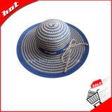 Chapéu da fita, chapéu das mulheres, chapéu flexível, chapéu de papel