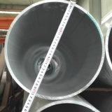 6063 T5 알루미늄은 관 크기 300mm*25mm를 가진 내밀었다