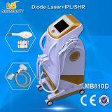Máquina del retiro del laser Permenent del diodo de IPL+Elight+Shr (MB810D)