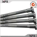 Kundenspezifische Hersteller-hohe Präzision CNC-maschinell bearbeitende Stahlkeil-Wellen