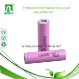 Hecho en batería de litio de Corea Samsung 18650 3.7V 2600mAh 26f