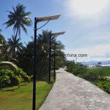 rue solaire Integrated/route/jardin tous de 6W-80W DEL dans une lumière solaire