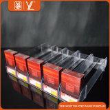 Acrylzigaretten-Einkommen mit Plastikregal-Ausdrücker