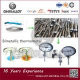 De Strook Ohmalloy 5j1580 van Bimetalic voor de Thermische Schakelaar van de Controle
