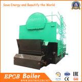 Le charbon a allumé la chaudière à vapeur à chaînes complètement automatique de grille