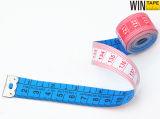 paño promocional de la fibra de vidrio del 1.5m el mini adapta cinta métrica