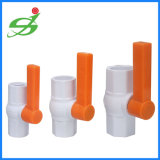 高品質UPVC八角形BSPTの球弁