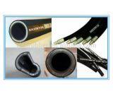 Boyau en caoutchouc hydraulique de spirale à haute pression du fil 4sp de qualité de constructeur
