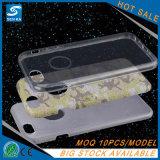 Heet schitter het Geval van de Telefoon van het Poeder 3in1 TPU voor iPhone 7/7plus
