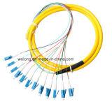 2 en hacia fuera encierro óptico cuadrado del empalme de fibra 2